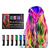 Best Hair Chalks - Hair Chalk Comb LAWOHO 6 Colors Temporary Hair Review