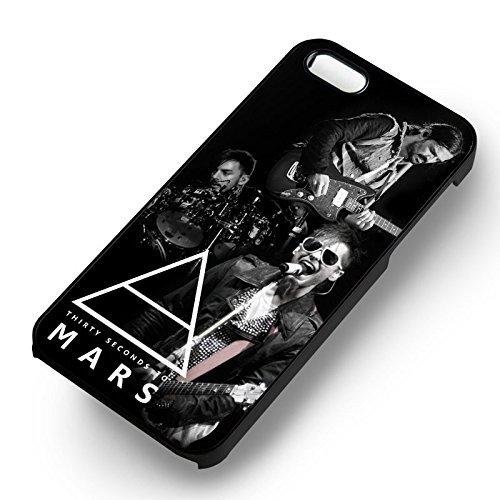 30 Seconds To Mars 2 pour Coque Iphone 6 et Coque Iphone 6s Case (Noir Boîtier en plastique dur) J1I6TK