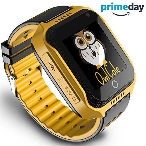 Smart Watch for Kids GPS Tracker Best Phone Watch Birthday With Camera Touchscreen SOS Pedometer for iPhone Android Smartphone for Children Boys Girls