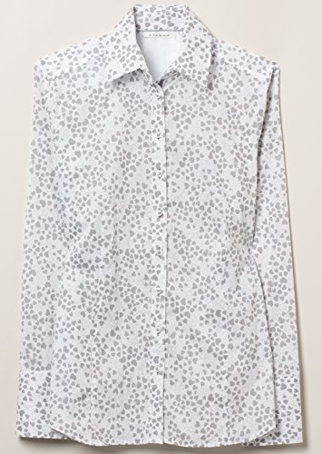 ETERNA long sleeve Blouse COMFORT FIT printed gris