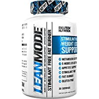 Evlution Nutrition Lean Mode Stimulant-Free Weight Loss Supplement with Garcinia Cambogia, CLA and Green Tea Leaf extract (30 Servings)