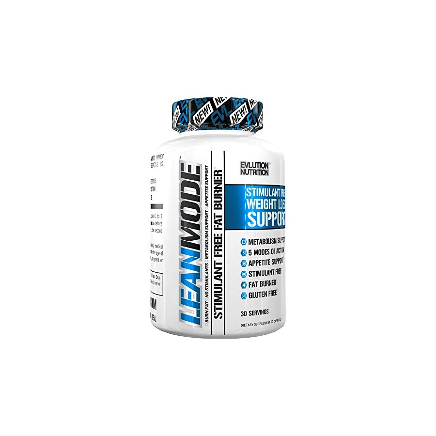 Evlution Nutrition Lean Mode Stimulant Free Weight Loss Supplement