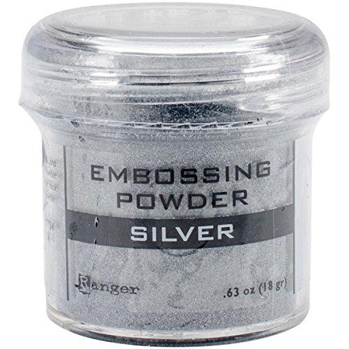 (Ranger Embossing Powder, 0.63 oz Jar, Silver )
