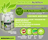 Garcinia Cambogia Extract – NEW ENHANCED Garcinia Cambogia 1600 Premium Pure LEAN (Dr. Oz, 1600mg strong, Clinically Proven, Dual Action Fat Burning Formula, Appetite Suppressant, Fat Burner, 60% HCA for EXTREME weight-loss) One month supply Veggie Capsules ECO-SAVE Design, Health Care Stuffs