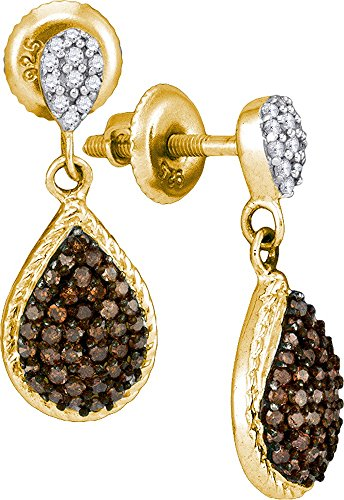 1/2 Total Carat Weight DIAMOND MICRO PAVE EARRING by Jawa Fashion