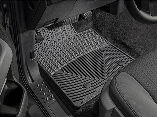 Chevy 2010 Weathertech (WeatherTech - W72-W70 - 2007-2011 Chevy Suburban Black All Weather Floor Mats Rows 1 2)