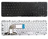 Replacement Laptop Keyboard With Frame For HP Pavilion 15 15-n 15-e 15-g 15-r 15-r000 15-r030wm 15-r035TX 15-r036 15-r011dx 15-r110dx 15-r052nr 15-r053cl 15-r015dx 15-r017dx 15-r018dx 15-r024nr 15-r058no15-r059no 15-r063nr 15-r104ng 15-r102ng 15-R273ng 15-R179ng 15-r102ng 15-R134cl 15-R136wm 15-R137wm , US layout Black color