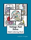 Vintage & Retro: Coloring Book