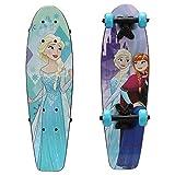PlayWheels Frozen 21'' Wood Cruiser Skateboard, Sister Love