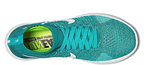 Turq Nike Yellow Orange Flyknit hyper Jade Clear Women's White LunarEpic Shoes Volt rwPqIrY