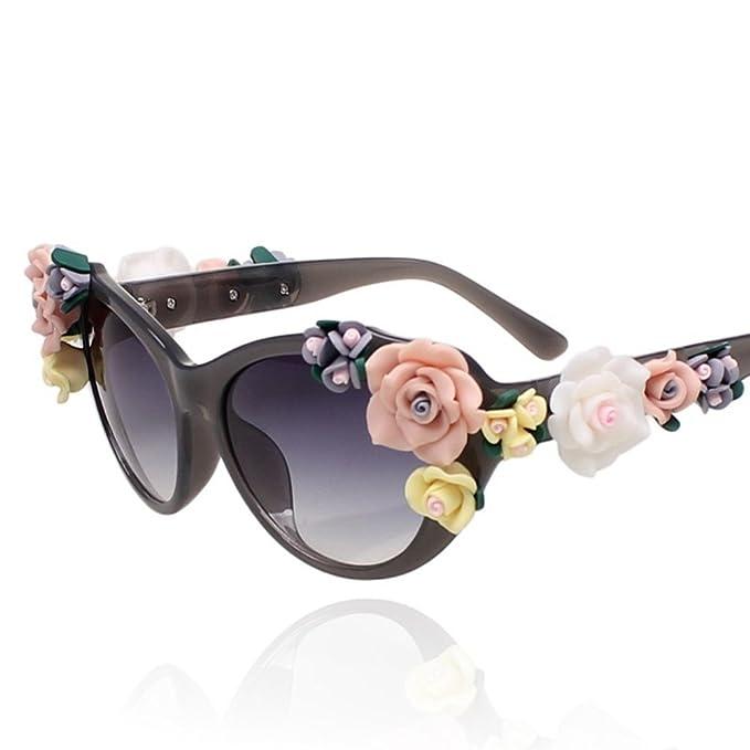 Flores grandes gafas de sol/No convencionales gafas de sol ...