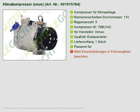climática Compresor BMW 3 E46 Serie 5 E39 7ER E38 Z8 E52 3.2 4.9 95 - 05: Amazon.es: Coche y moto
