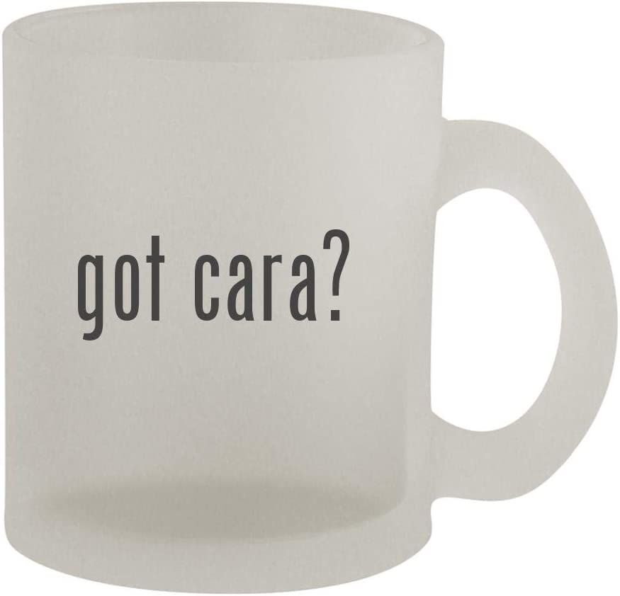 got cara? - 10oz Frosted Coffee Mug Cup, Frosted