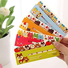 Hunulu Cute Funny 120 Pages Cartoon Animal Style Sticker Post It Bookmark Marker Mini Memo Flags Tab Small Sticky Notes