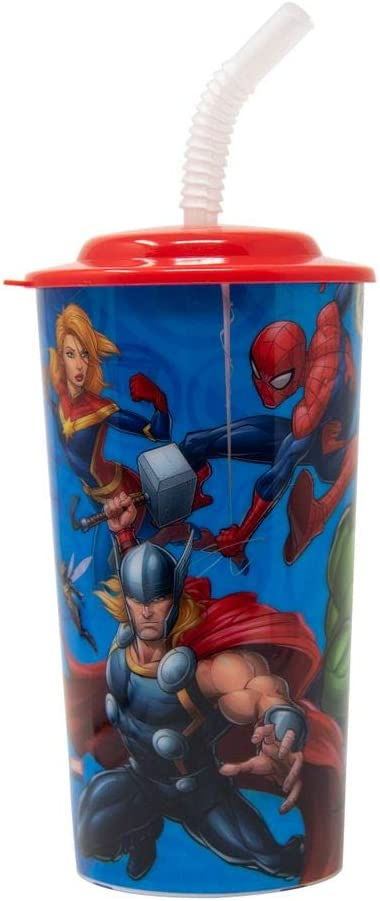 Superhero straw