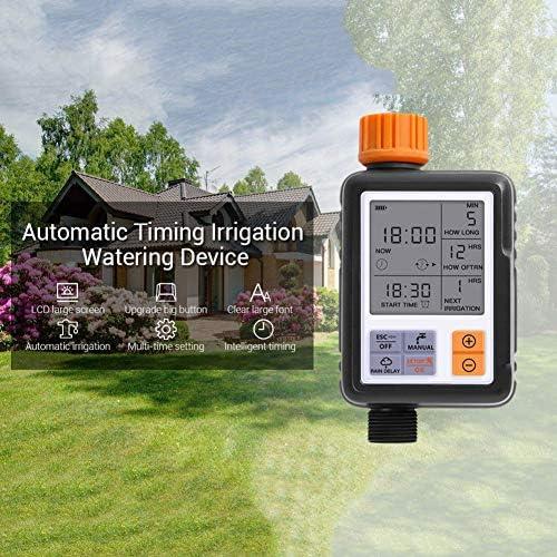 HMZ Automatischer elektronischer Wasser-Timer-Schirm-Sprinkler-Controller im Freien Garten-Timer Automatische Bewässerungsvorrichtung Bewässerung Werkzeuge