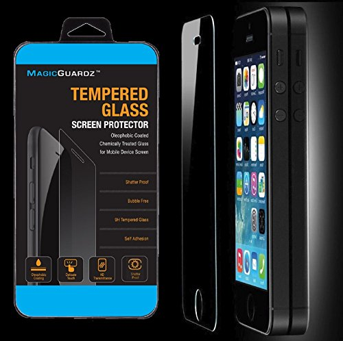 Wholesale Lot of 100x Tempered Glass Film Screen Protector for iPhone 5 5c 5S by Gogad (Image #4)