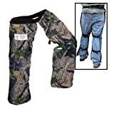 Forester Chainsaw Safety Chaps with Pocket, Apron Style, (Regular 37