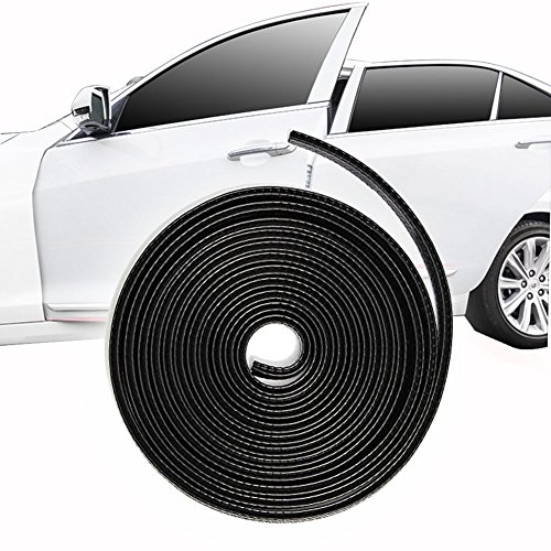 Edge Rim (13Ft(4M) Car Door Edge Guards U Shape Edge Trim Rubber Seal Protector Car Protection Door Edge Fit for Chevrolet Chevy Ford GMC Dodge Lincoln Jeep Chrysler Cadillac Buick Convertible Truck SUV)