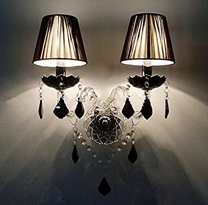 GOWE Modern Crystal Wall Lamp Lamparas de Pared Wall Sconce Hallway lighting Lampada Led Wall Lamp Lampada Led - - Amazon.com