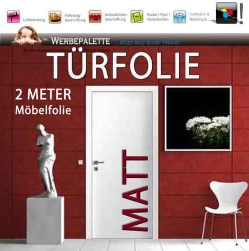 Plotterfolie Möbelfolie Klebefolie Türfolie Folie Dunkel Grün Matt 4,59€//m²