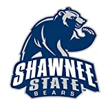 Shawnee State University CreativeStickers0707 Set Of Two (2x) Stickers , Laptop , Ipad , Car , Truck , Size 4 inches on Longer Side