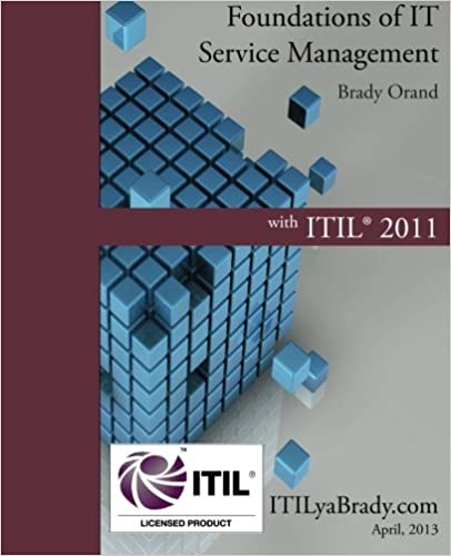 Foundations of IT Service Management with ITIL