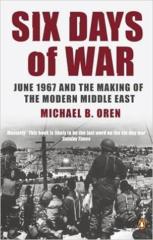 Six Day War Book