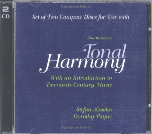 Audio CDs For Use with Tonal Harmony With An Introduction to Twentieth-Century Music