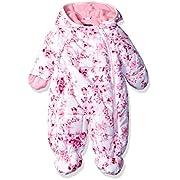 Rothschild Baby Girls' Print Pram, Pink Rose, 3/6 Months