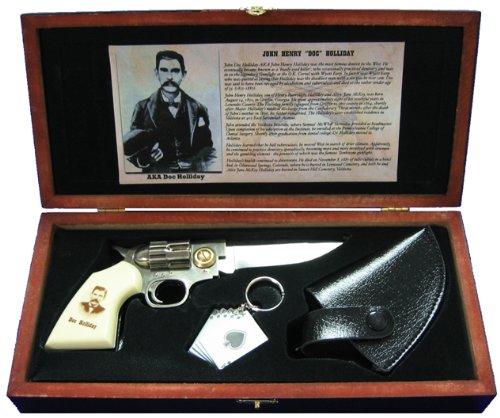 Doc Holliday Folding Gun Knife, Outdoor Stuffs