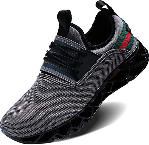 - Wonesion Mens Casual Athletic Fashion Tennis Walking Fitness Shoes Slip on Sneakers