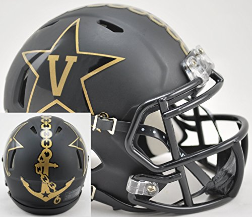 Riddell NCAA Vanderbilt Commodores Helmet Mini Speed, One Size, Team Color