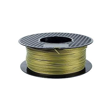 Impresora 3D filamento PLA filamento 1.75mm Metal PLA ...
