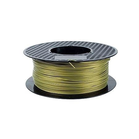 Impresora 3D filamento PLA filamento 1.75mm Metal PLA filamento ...
