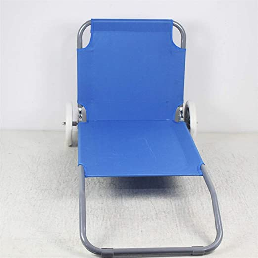 motaje de silla de playa con ruedas