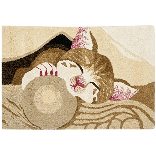 (Safavieh Wilderness Collection WLD207A Tan and Caramel Area Rug, 2 feet by 3 feet (2' x 3'))