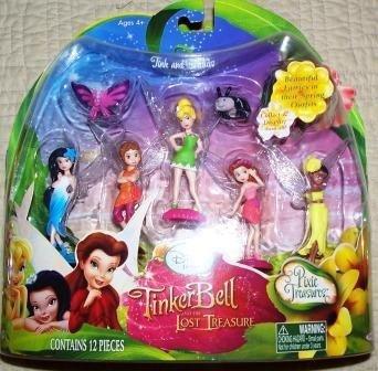 Tinkerbell The Lost Treasure Mini Tink Friends