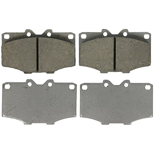 (Wagner ThermoQuiet PD137 Ceramic Disc Pad Set, Front)