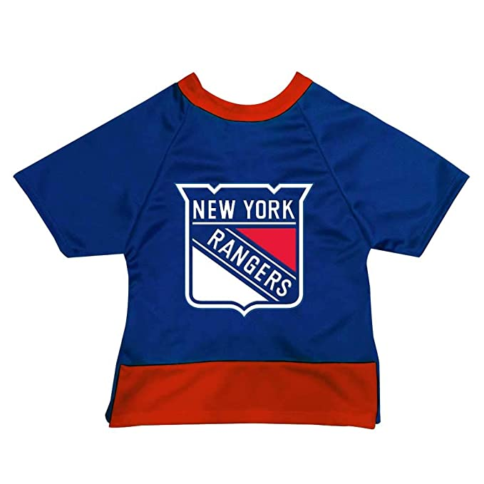09a970f5d79 Amazon.com : All Star Dogs NHL Unisex NHL New York Rangers Athletic Mesh  Dog Jersey : Sports & Outdoors