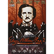 Edgar Allan Poe Collection 2 (6 Films) - 3-DVD Set ( Phantom of the Rue Morgue / Premature Burial / The Masque of the Red Death / The Tomb of Ligeia / The [ NON-USA FORMAT, PAL, Reg.2 Import - Spain ] by Claude Dauphin