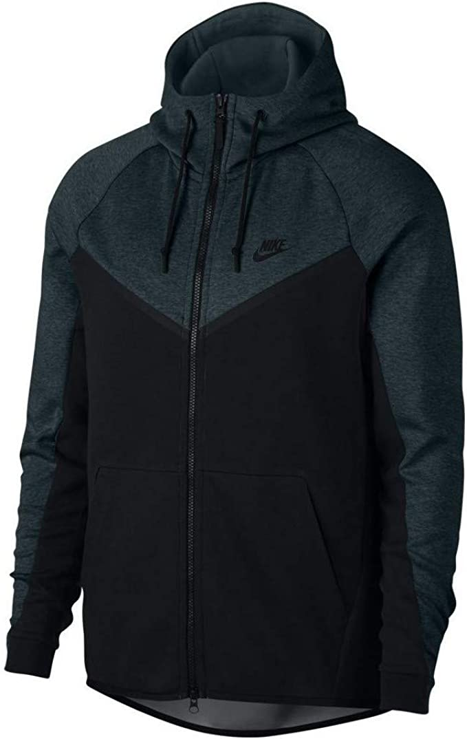Nike Herren Sportswear Tech Fleece Windrunner Dunkelgrün