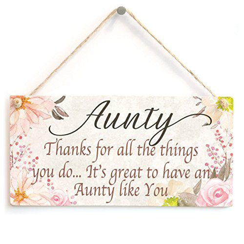 Meijiafei Aunty Thanks for all the things you do… It's great to have a Aunty like You - Auntie Gifts From Kids To Say Thank You 10