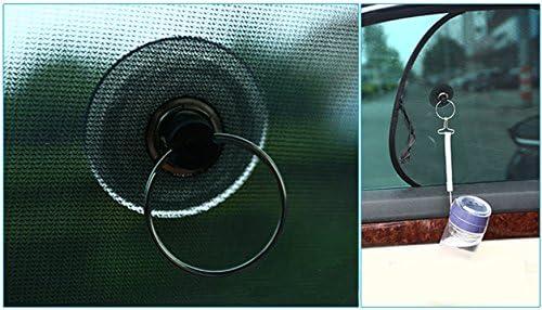 para Filtrar el Sol para Padres Ventosa Firme//Tela Casi Opaca//Acabado Perfecto Mascotas 2 PCS Parasol de Coche Peques