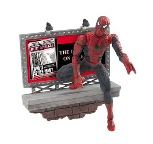 Spider-Man 2: Super Poseable Spider-Man Action Figure B0000TQNSY