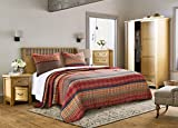 Barefoot Bungalow Gold Rush Coverlet Quilt Set, 3Piece King