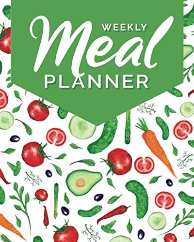 Weekly Meal Planner: 52 Week Menu Planner & Grocery Shopping list for 1 year / Food Prep Book · Eat Records · Expense tracker · Journal / Diary / ... / Book · Track And Plan Your Healthy Meals (Week Of Healthy Meals And Grocery List)