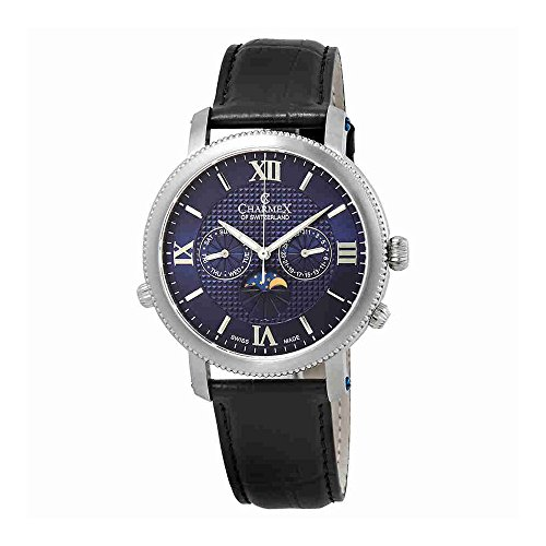 Charmex Salzburg Moonphase Blue Dial Mens Watch 2967