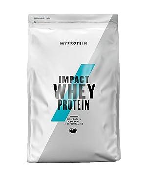 MyProtein Impact Whey Proteína de Suero, Sabor Chocolate y Caramelo - 1000 gr: Amazon.es: Salud y cuidado personal