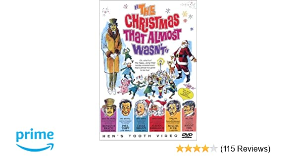 Christmas That Almost Wasn T.Amazon Com The Christmas That Almost Wasn T Mischa Auer